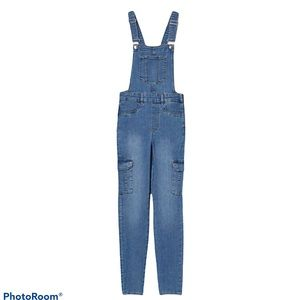 H&M Divided Overalls Skinny Fit Size 2 Dungarees